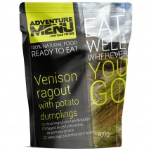 Adventure Menu - Venison Ragout with Dumplings