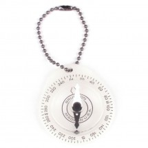 Brunton - Glowing Key Ring Compass - Kompas