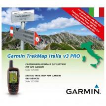 Garmin - TrekMap Italien v3 Pro microSD/SD