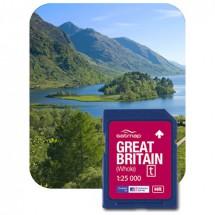 Satmap - Großbritannien Gesamt (OS 1:25k) - Carte SD