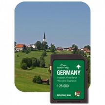 Satmap - Hessen & Saarland & Rheinland-Pfalz (ADV 1:25k)