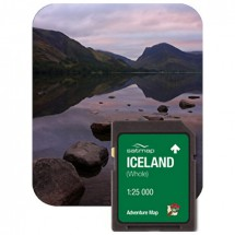Satmap - Island Gesamt (ADV 1:25k) - SD-kaart