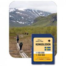 Satmap - Kungsleden Fernwanderweg (1:100k) - Carte SD