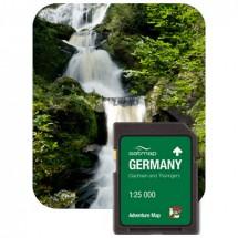 Satmap - Sachsen & Thüringen (ADV 1:25k) - SD card