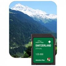 Satmap - Schweiz Gesamt (ADV 1:25k) - SD-muistikortti