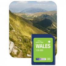 Satmap - Wales (OS 1:50k) - SD-Karte