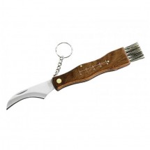 - Pilz-Messer Mit Bürste - Knife
