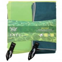 Packtowl - Personal Towel Set 2 - Microfiber towel