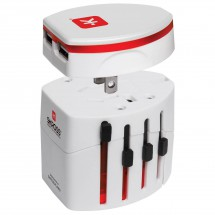 Skross - World Travel USB - Pistokeadapteri