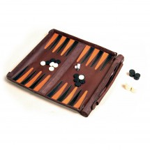 Leathersafe - Roll & Play Packgammon
