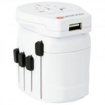 Skross - World Pro + USB Schuko - Steckdosenadapter