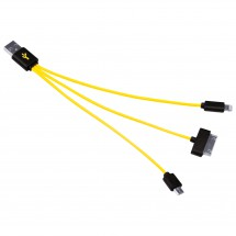 Brunton - 3 in 1 Cable USB-Micro - Adapterin kaapeli