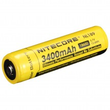 Nitecore - Li-Ion Akku 18650 3400 mAh - Rechargeable battery