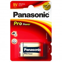 Panasonic - Alkaline Batterien Pro Power 9V Block