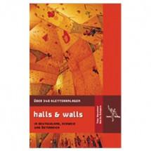 "tmms-Verlag - """"Halls & Walls"""" Kletterhallenführer"