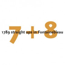 7 + 8 - 1789 straight ups in Fontainebleau