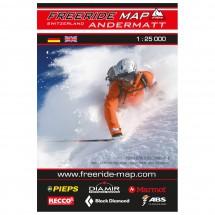 FRM - Freeride Map -Switzerland Andermatt