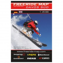 FRM - Freeride Map - Switzerland Davos Süd