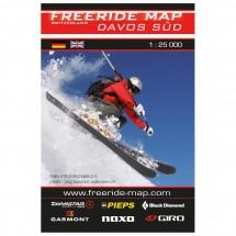 FRM - Freeride Map - Switzerland Davos Süd