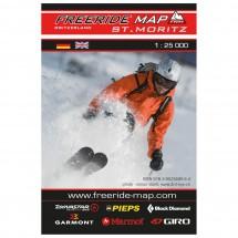 FRM - Freeride Map - Switzerland St.Moritz