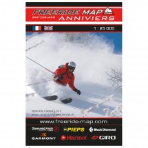 FRM - Freeride Map - Switzerland Val d' Anniviers