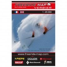 FRM - Freeride Map - Switzerland Verbier