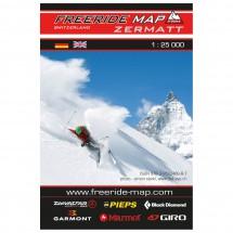 FRM - Freeride Map - Switzerland Zermatt