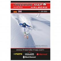 FRM - Freeride Map - Austria St.Anton/ Stuben Arlberg