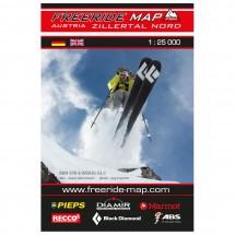 FRM - Freeride Map - Austria Zillertal Nord / Hochfügen