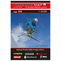 FRM - Freeride Map - Austria Fieberbrunn