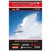 FRM - Freeride Map - Austria Kitzbühel West