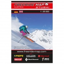 FRM - Freeride Map - Austria Stubai