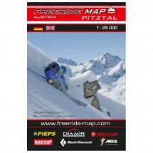 FRM - Freeride Map - Austria Pitztal