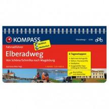 Kompass - Elberadweg von Schöna/Schmilka nach Magdeburg