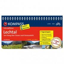 Kompass - Lechtal, von Steeg über Füssen nach Donauwörth