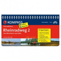 Kompass - Rheinradweg 2, von Mannheim nach Köln - Radführer