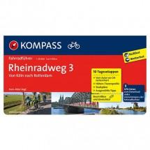 Kompass - Rheinradweg 3 - Pyöräilyoppaat