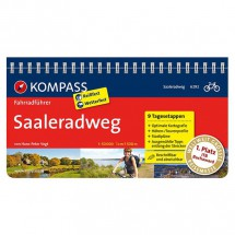 Kompass - Saaleradweg - Pyöräilyoppaat