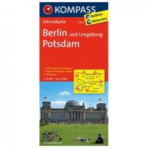 Kompass - Berlin und Umgebung - Pyöräilykartat