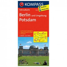 Kompass - Berlin und Umgebung - Cartes de randonnée à vélo