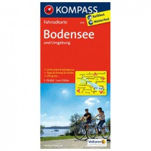 Kompass - Bodensee und Umgebung - Cartes de randonnée à vélo