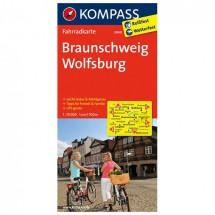 Kompass - Braunschweig - Fietskaarten