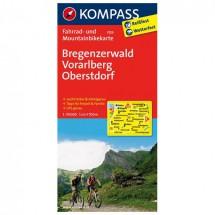 Kompass - Bregenzerwald - Cycling maps