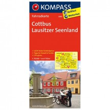 Kompass - Cottbus - Cartes de randonnée à vélo
