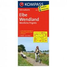 Kompass - Elbe - Wendland - Westliche Prignitz - Radkarte