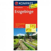 Kompass - Erzgebirge - Cartes de randonnée à vélo