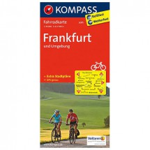 Kompass - Frankfurt und Umgebung - Radkarte