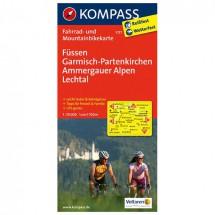 Kompass - Füssen - Cartes de randonnée à vélo