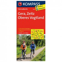 Kompass - Gera - Cartes de randonnée à vélo