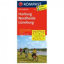 Kompass - Harburg - Radkarte